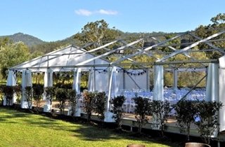 Wedding Venue - Sarabah Estate Vineyard - Marquee 1 on Veilability