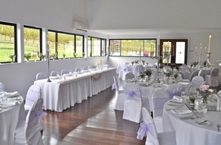 Wedding Venue - Sarabah Estate Vineyard - Chalet Reception 2 on Veilability