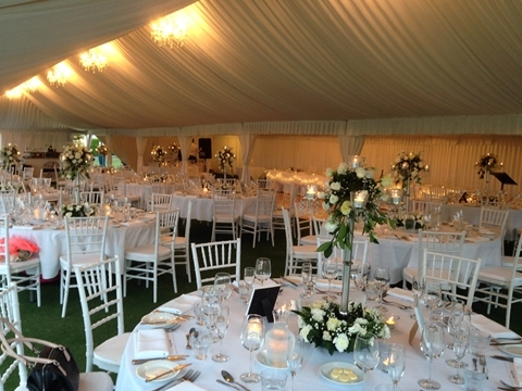 Wedding Venue - Links Hope Island - Outdoor Marquee on the Lawns 1 - Marquee Reception on Veilability