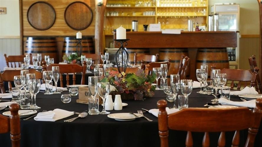 Wedding Venue - Cedar Creek Estate Vineyard & Winery - The Cedar Room 2 on Veilability