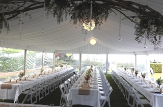 Wedding Venue - Vue de Lumieres - Marquee 1 on Veilability