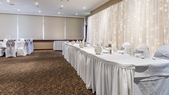 Wedding Venue - Quality Hotel Mermaid Waters - Arcadia Room 1 - Wedding on Veilability