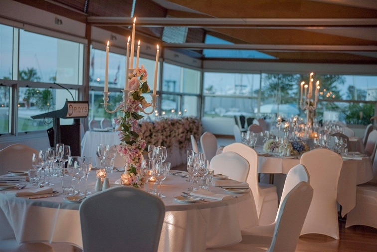 Wedding Venue - Royal Queensland Yacht Squadron - The Flags Room 5 on Veilability