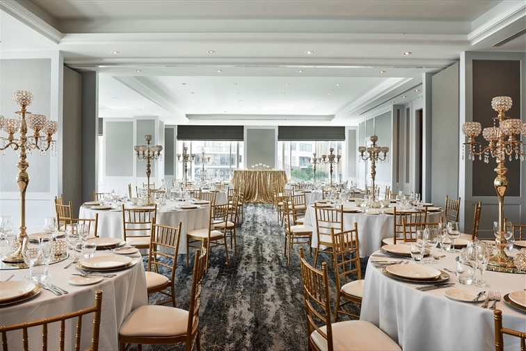 Wedding Venue - Brisbane Marriott Hotel - The Queen Adelaide Room 2 on Veilability