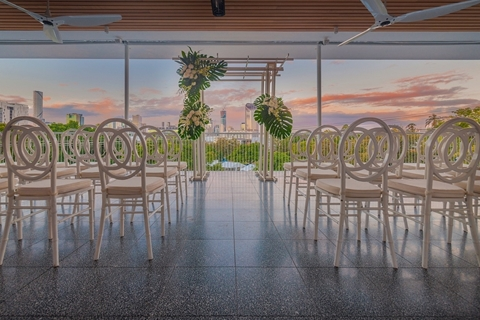 Grand Balcony Wedding Reception Ceremony Venue