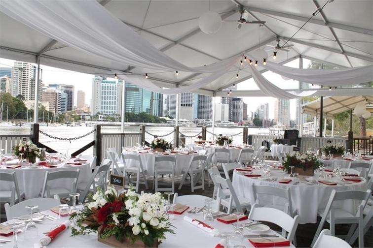 Wedding Venue - Riverlife - Sunset Marquee 4 on Veilability