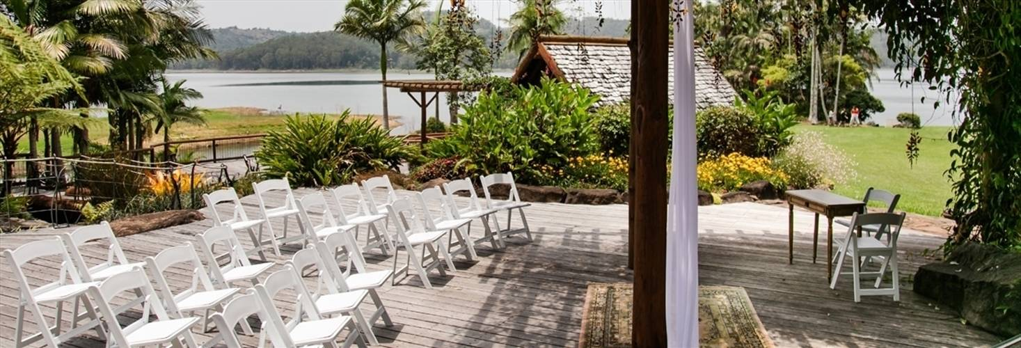 Wedding Venue - Secrets on the Lake - The Lakehouse Deck 1 on Veilability