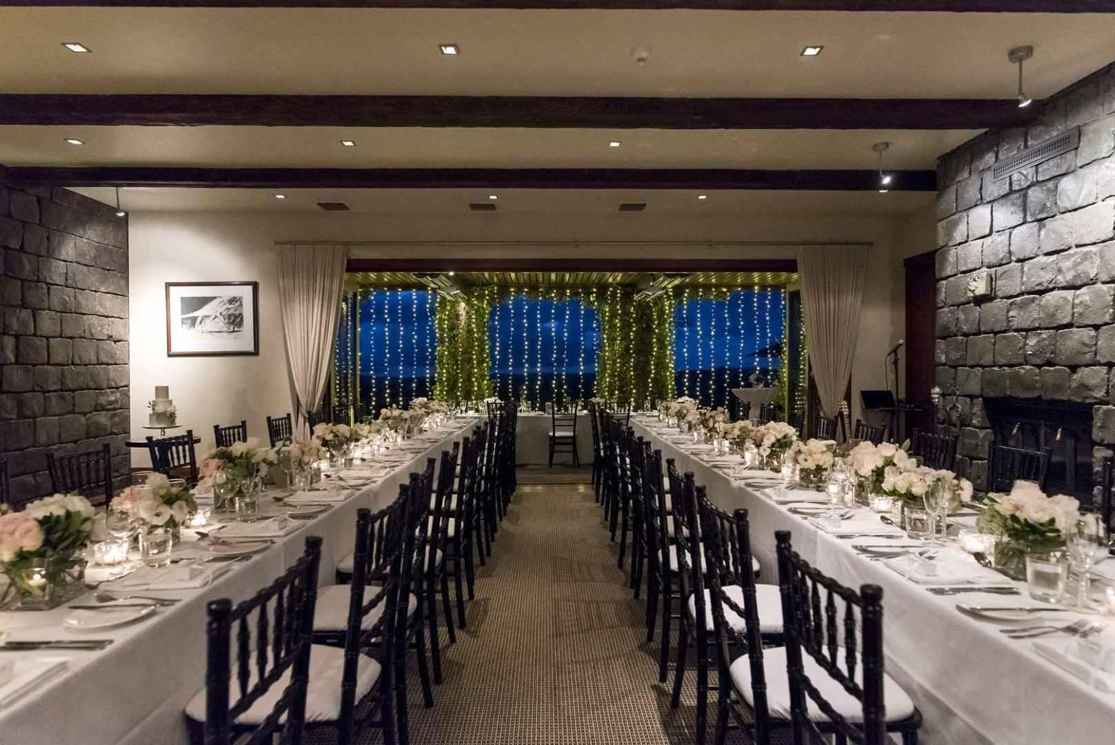 Wedding Venue - Spicers Peak Lodge - The Peak Restaurant 1 on Veilability