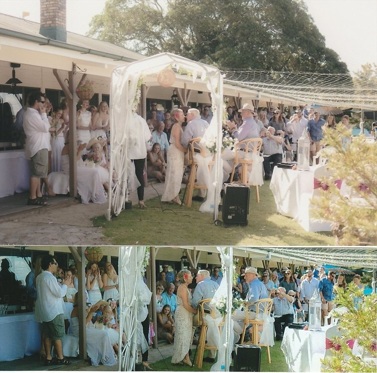 Wedding Venue - Cherrabah Country Weddings - The Terrace 2 on Veilability