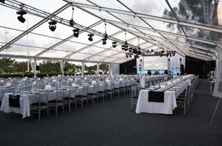 Wedding Venue - Intercontinental Sanctuary Cove Resort - Marina Lawn 3 on Veilability