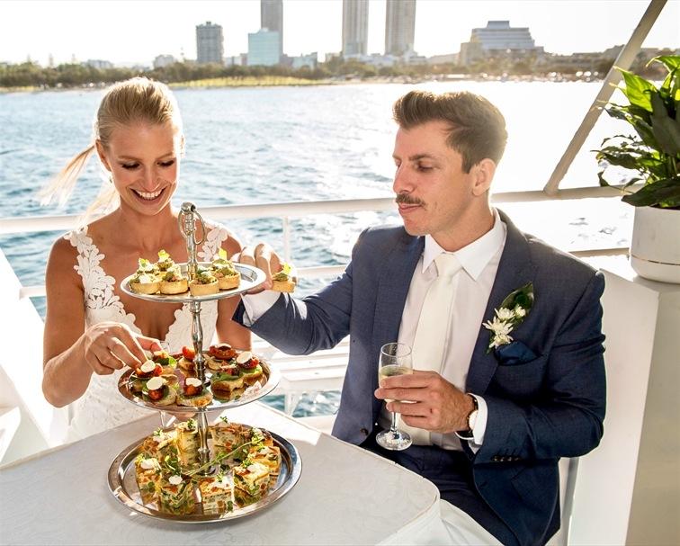 Wedding Venue - Gold Coast Cruises The Lady 5 on Veilability