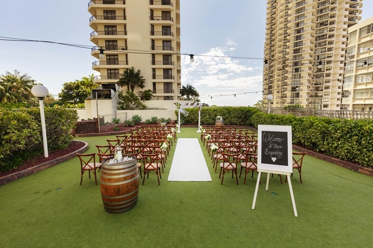 Wedding Venue - Novotel Surfers Paradise - The Green 2 on Veilability