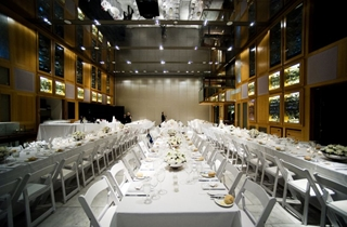 Wedding Venue - State Library of Queensland - Queensland Terrace 1 - Image courtesy Vivid Photography on Veilability