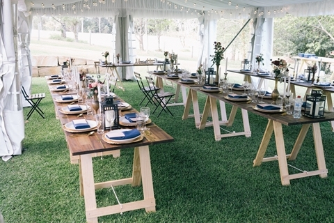 Wedding Venue - Mt Glorious Getaways - Lager Weddings: Marquee Site 5 on Veilability