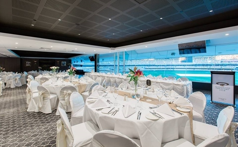 Wedding Venue - Queensland Cricketers' Club - The Main Viewing Room 1 on Veilability