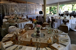 Wedding Venue - Cedar Creek Lodges - The Rainforest Restaurant 6 on Veilability