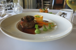 Wedding Venue - Shangri La Gardens  - Sylvia's Restaurant 4 - Filet Mignon on Veilability