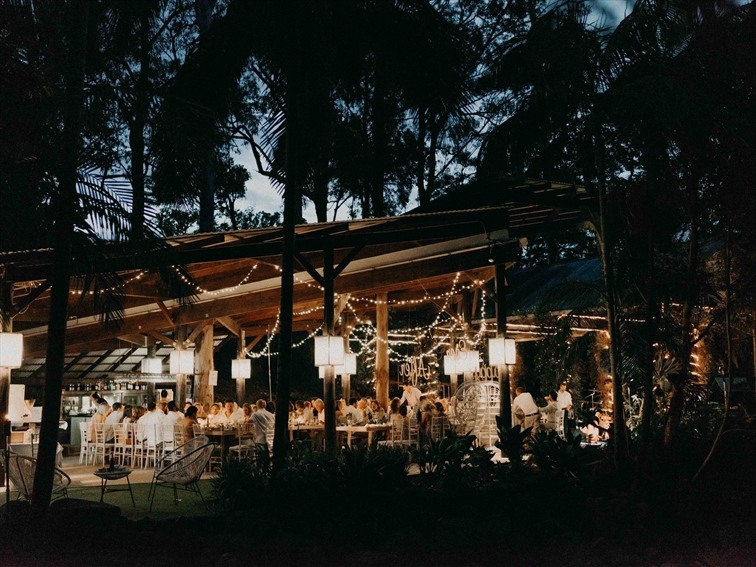 Wedding Venue - Cedar Creek Lodges - The Island Glade 10 on Veilability